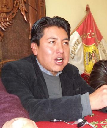 Los cívicos de Bolivia  se reúnen  en Potosí
