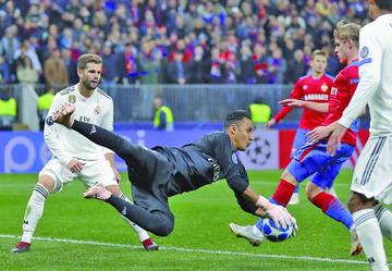 Real Madrid naufraga en su visita al CSKA