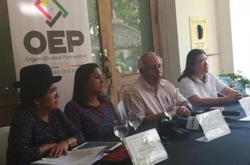 Vocales del TSE afirman que no existe una crisis en el Órgano Electoral