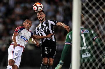 Bahía gana a Botafogo en penales
