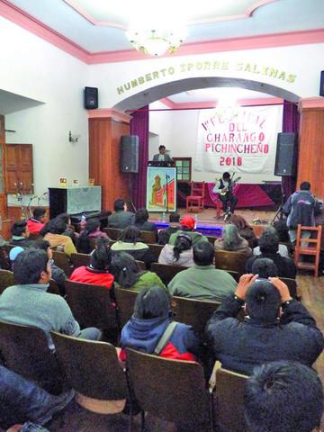 Se cumple festival del charango pichincheño