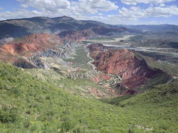 AJAM verifica los trabajos de explotación de oro en Potosí