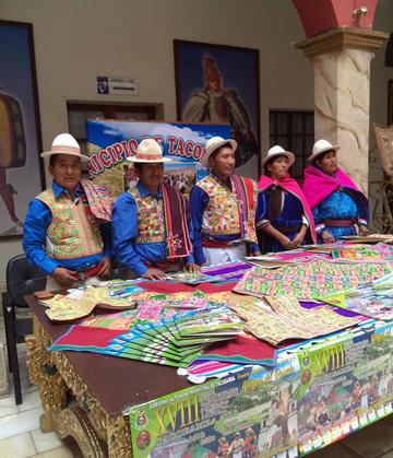 La alcaldía de Tacobamba lanza feria agropecuaria