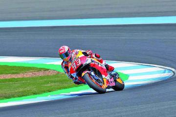 Marc Márquez saldrá primero en el Gran Premio de Tailandia de MotoGP