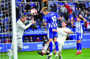 Deportivo Alavés gana a Real Madrid