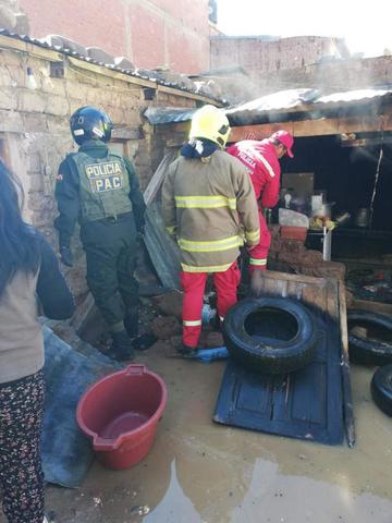 Fuga de gas causa susto y desesperación en una familia de zona Satélite