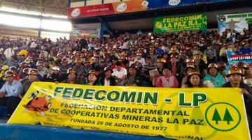 Cooperativas mineras se alejan del MAS y fundarán un partido