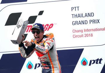 Marc Márquez se impone en el Gran Premio de Tailandia de MotoGP
