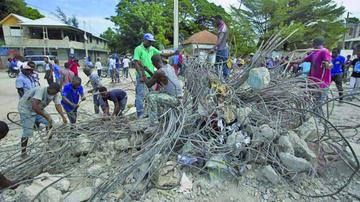 Haití vuelve a sufrir tras terremoto que causa 15 muertos y 333 heridos