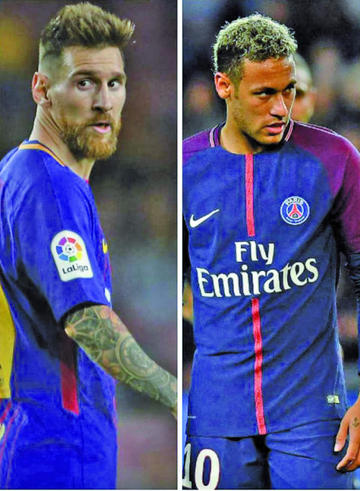Messi y Neymar, entre los candidatos al Balón de Oro