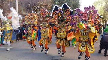 Grupos de Oruro mostrarán diversidad cultural en el Festival de Integración
