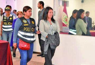 Detienen a Keiko Fujimori por un caso de lavado de activos en Perú