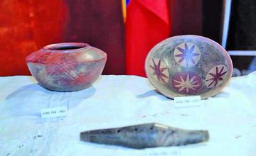 Colombia recupera 11 piezas antiguas