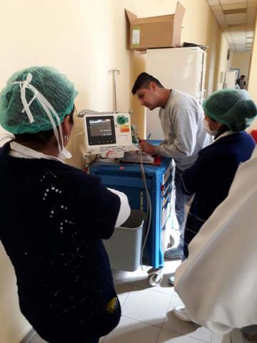Licitarán la ampliación de ambientes médicos