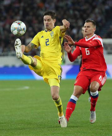 Suecia frena la racha de la selección rusa