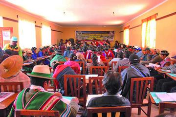 Ayllu Yura avanza hacia su autonomía indígena originaria campesina