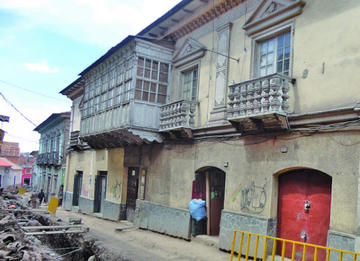 Otros detalles de la calle Bustillo de Potosí