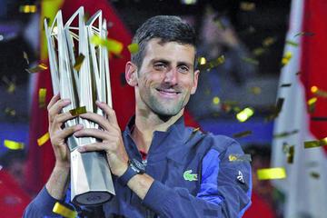 Djokovic se proclama campeón en Shanghái