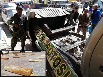 Incautan camioneta que llevaba cannabis de Ecuador hacia Chile