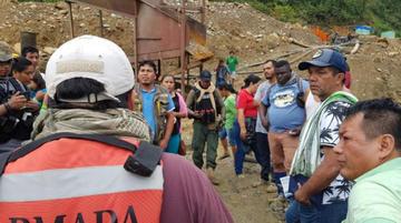 AJAM: bandas criminales impidieron la aprehensión de chinos y colombianos