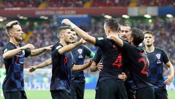 Croacia sufre para vencer a la selección de Jordania