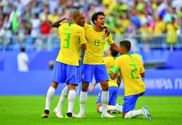 Brasil vence a Argentina en el Superclásico de las Américas disputado en Arabia Saudí