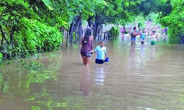 Costa Rica registra 1.100 albergados y lluvias comienzan a disminuir