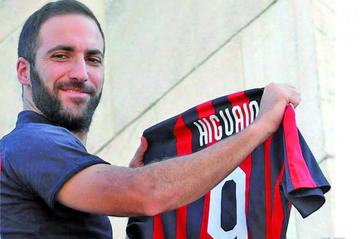 Gonzalo Higuaín dice no sentir rencor hacia Juventus tras su salida