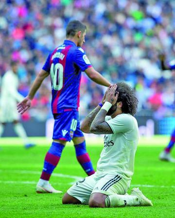 """Levante gana a Real Madrid en el """"Bernabéu"""""""