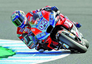 Dovizioso complica el objetivo de Márquez de proclamarse campeón del mundo de MotoGP