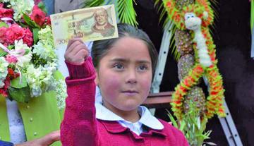 Bono Juancito Pinto beneficia a 178.562 estudiantes en Potosí