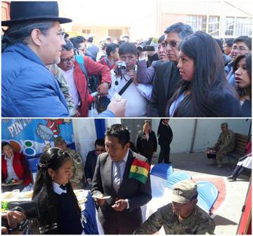 Bono Juancito Pinto reparte Bs 35 millones entre los alumnos