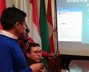 Policías de la Felcc indagan estafas por las redes sociales