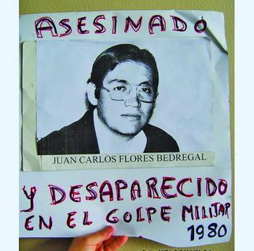 El caso por la desaparición  de Carlos Flores va a la Corte IDH