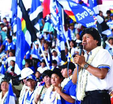 El MAS estará en vigilia hasta que el TSE habilite a Evo para las elecciones