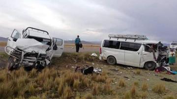 Un accidente vial deja tres muertos y cinco heridos