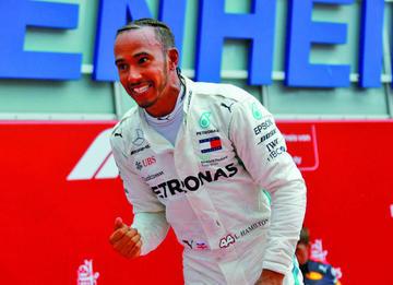 Hamilton apunta a su quinto título en México