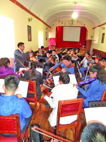 Orquesta del Franciscano prepara ciclo de conciertos