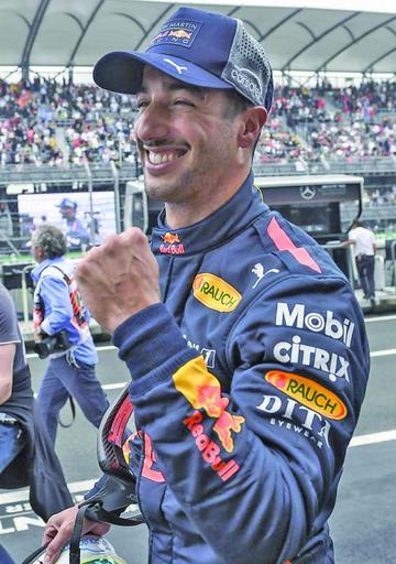 "Ricciardo logra la ""pole"" en el GP de México"