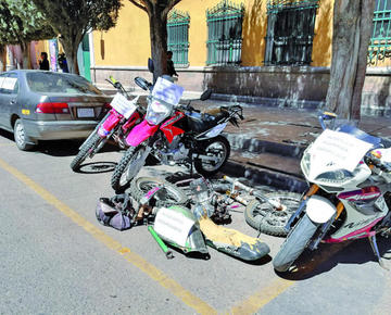 Diprove descubre ola de robos de motocicletas en la ciudad