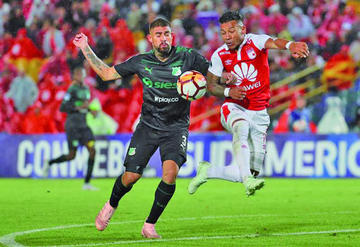 Deportivo Cali e Independiente Santa Fe van por su pase a semifinal de la Sudamericana