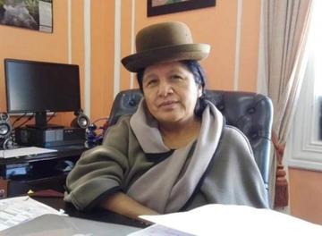 María Eugenia Choque asume la presidencia del Tribunal Electoral