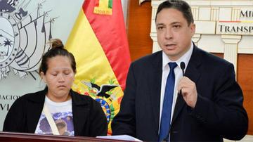 """Ministro Arce: justicia argentina perdona cárcel a la mamá de """"Chumita"""""""