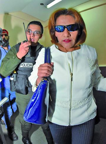 Exjueza Pacajes es enviada a la cárcel con detención preventiva