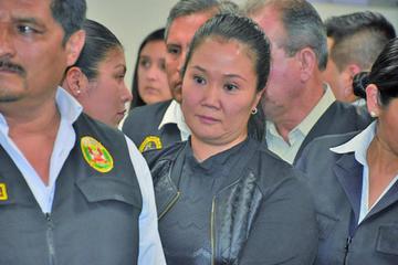 Envían a Keiko Fujimori a prisión por el presunto lavado de dinero