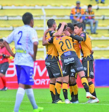 El Tigre se come de cinco bocados a Real Potosí