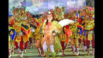 En Londres lanzan Carnaval de Oruro