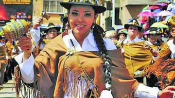 Comienza el primer convite rumbo al Carnaval de Oruro