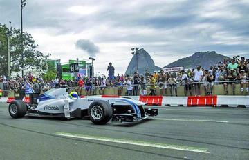 Brasil empieza a calentar los motores para el Gran Premio de Fórmula Uno