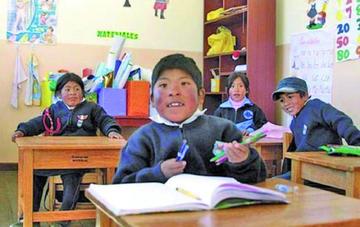 Año escolar terminará el 7 de diciembre en el departamento de Potosí